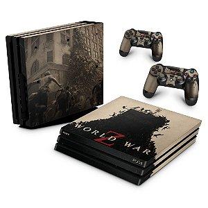 PS4 Pro Skin - World War Z
