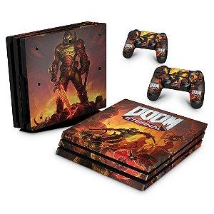 PS4 Pro Skin - Doom Eternal