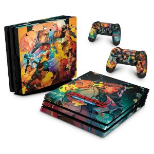 PS4 Pro Skin - Streets of Rage 4