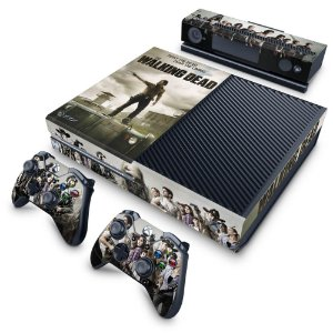 Xbox One Fat Skin - The Walking Dead