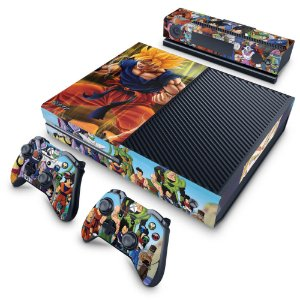 Xbox One Fat Skin - Dragon Ball Z