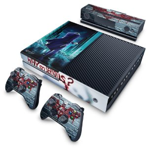 Xbox One Fat Skin - Coringa - Joker