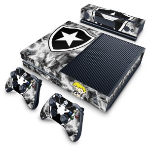 Xbox One Fat Skin - Botafogo