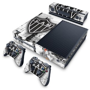 Xbox One Fat Skin - Atletico Mineiro