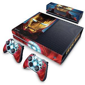 Xbox One Fat Skin - Iron Man - Homem de Ferro