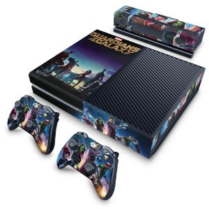 Xbox One Fat Skin - Guardiões da Galaxia