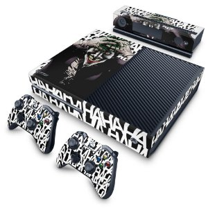 Xbox One Fat Skin - Joker Coringa Batman