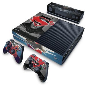 Xbox One Fat Skin - Batman Vs Superman