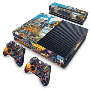 Xbox One Fat Skin - Sunset Overdrive