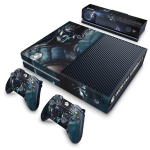Xbox One Fat Skin - Mortal Kombat X - Subzero