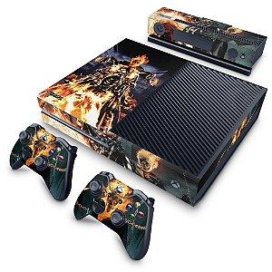 Xbox One Fat Skin - Ghost Rider - Motoqueiro Fantasma #A