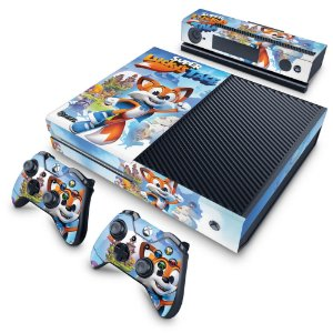 Xbox One Fat Skin - Super Lucky's Tale