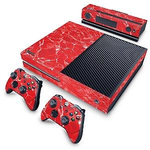 Xbox One Fat Skin - Aquático Água Vermelha