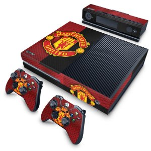 Xbox One Fat Skin - Manchester United