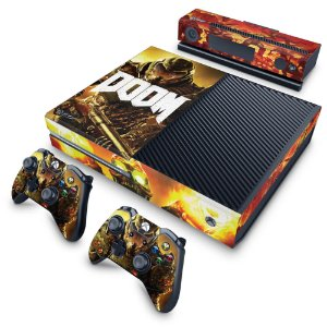 Xbox One Fat Skin - Doom
