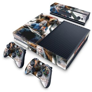 Xbox One Fat Skin - The Witcher 3 Blood And Wine