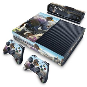 Xbox One Fat Skin - Watch Dogs 2