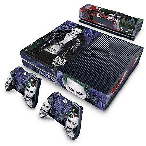 Xbox One Fat Skin - Esquadrão Suicida #D