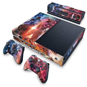 Xbox One Fat Skin - Tekken 7