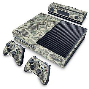 Xbox One Fat Skin - Dollar Money Dinheiro