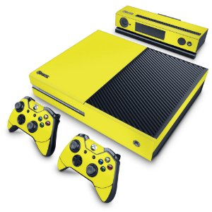 Xbox One Fat Skin - Amarelo