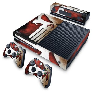 Xbox One Fat Skin - The Punisher Justiceiro