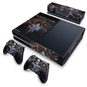 Xbox One Fat Skin - Shadow of War