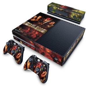 Xbox One Fat Skin - Piratas do Caribe
