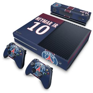 Xbox One Fat Skin - Paris Saint Germain Neymar Jr PSG