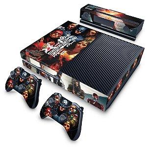 Xbox One Fat Skin - Liga da Justiça