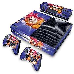 Xbox One Fat Skin - Dragon Ball Super Goku