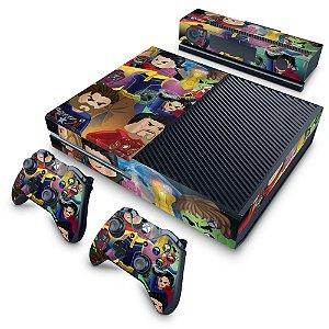 Xbox One Fat Skin - Lego Avengers Vingadores