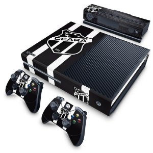 Xbox One Fat Skin - Ceará Sporting Club