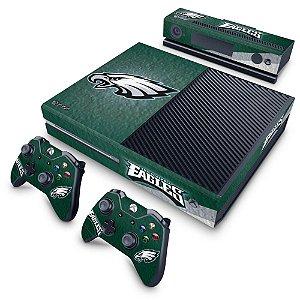 Xbox One Fat Skin - Philadelphia Eagles NFL