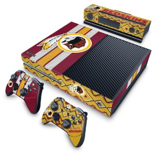 Xbox One Fat Skin - Washington Redskins NFL