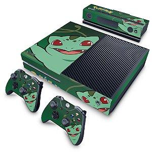 Xbox One Fat Skin - Pokemon Bulbasaur