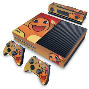 Xbox One Fat Skin - Pokemon Charmander