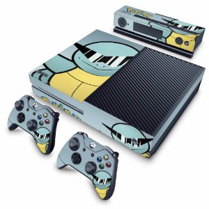 Xbox One Fat Skin - Pokemon Squirtle