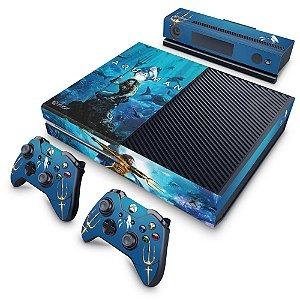 Xbox One Fat Skin - Aquaman