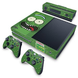 Xbox One Fat Skin - Pickle Rick and Morty