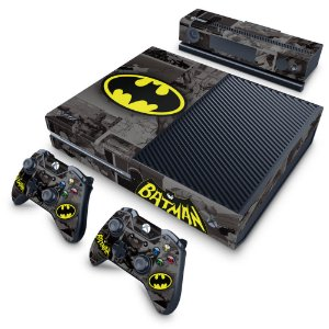 Xbox One Fat Skin - Batman Comics