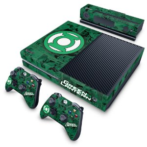 Xbox One Fat Skin - Lanterna Verde Comics