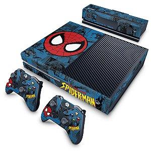 Xbox One Fat Skin - Homem-Aranha Spider-Man Comics
