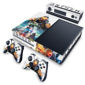 Xbox One Fat Skin - Anthem