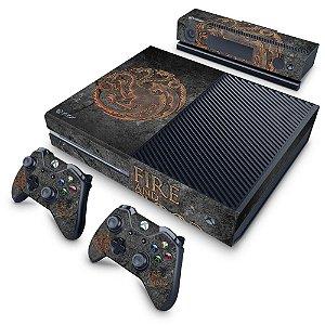Xbox One Fat Skin - Game of Thrones Targaryen