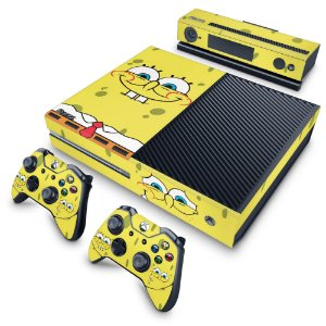 Xbox One Fat Skin - Bob Esponja