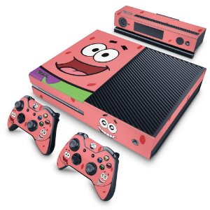 Xbox One Fat Skin - Patrick Bob Esponja