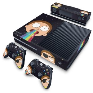 Xbox One Fat Skin - Morty Rick and Morty