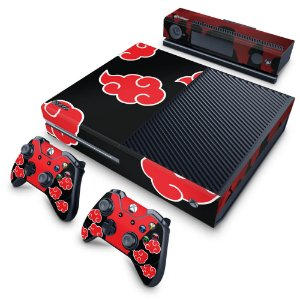 Xbox One Fat Skin - Naruto Akatsuki