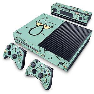 Xbox One Fat Skin - Lula Molusco Bob Esponja